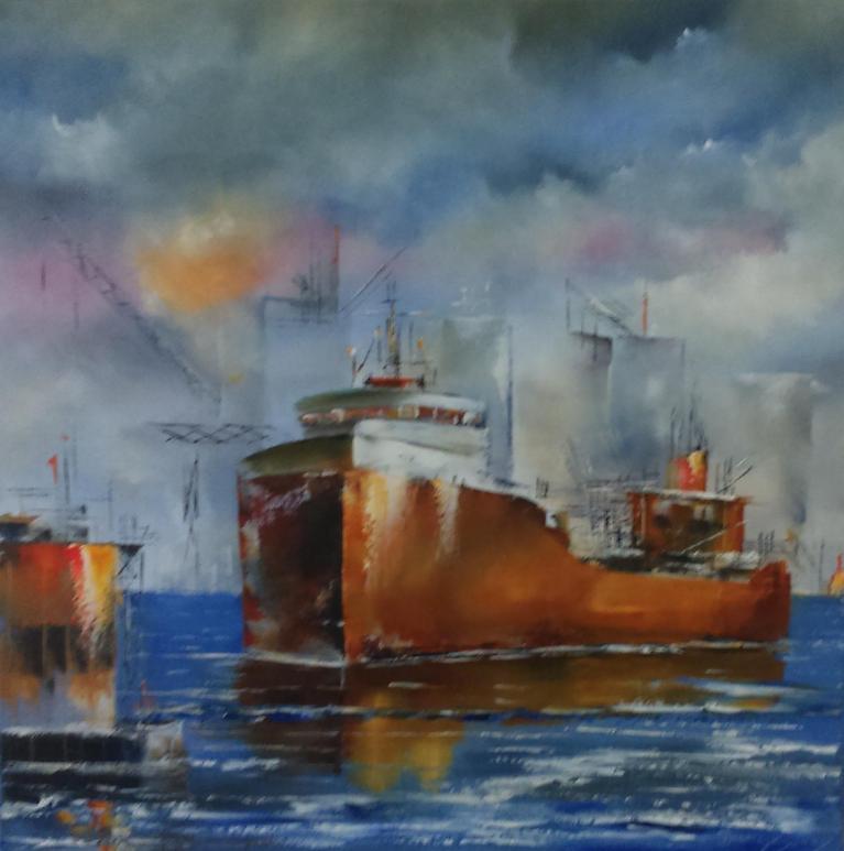 Douay bernard dans le port